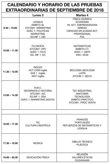 Calendario_y_horario_pruebas_de_septiembre_2018